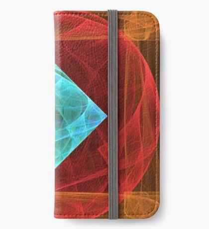 Antiquarian Pulsar #fractal art iPhone Wallet