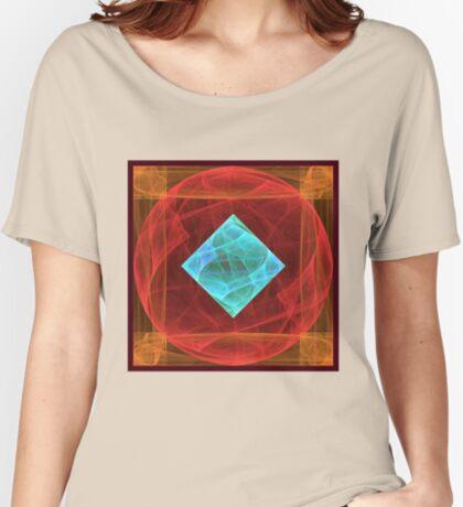 Antiquarian Pulsar #fractal art Relaxed Fit T-Shirt