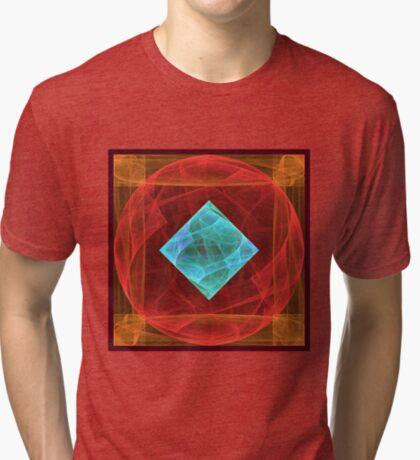 Antiquarian Pulsar #fractal art Tri-blend T-Shirt