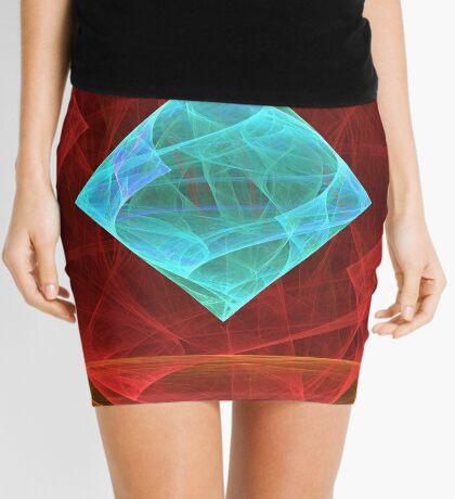 Antiquarian Pulsar #fractal art Mini Skirt