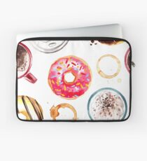 Donuts and Coffee Laptop Sleeve