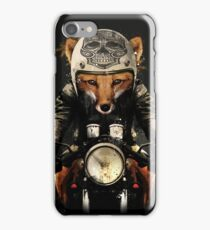 Fox Biker iPhone Case/Skin