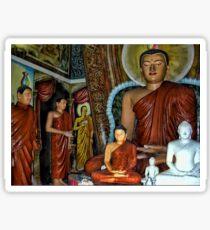 BUDDHA STATUES SRI LANKA  PICTURE AND OR CARD Sticker