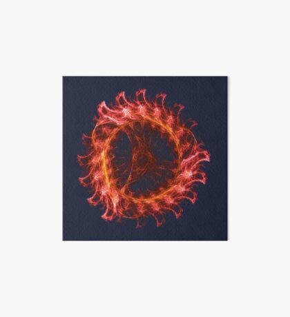 I am the Fire! #fractal Art Board Print
