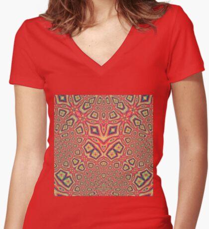 Hidden power Women's Fitted V-Neck T-Shirt