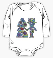 Bride and groom One Piece - Long Sleeve