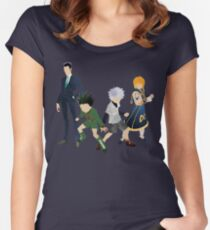 Protagonists - Hunter x Hunter  Women's Fitted Scoop T-Shirt