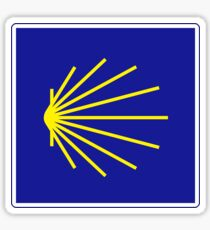 Camino de Santiago Sign, Spain Sticker