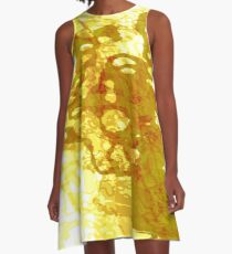 20160929 orange oblivion no. 2 A-Line Dress