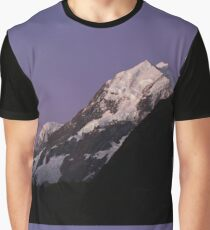 Mt Cook New Zealand Graphic T-Shirt