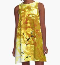 20160929 orange oblivion no. 1 A-Line Dress