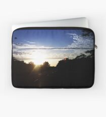 Sunset from inside a cab Laptop Sleeve