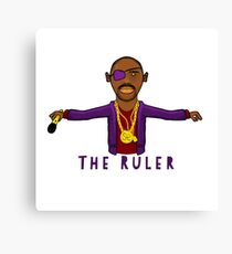 THE RULER Canvas Print