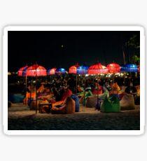 Double Six Beach Bar Sticker