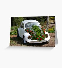 VW Car Plant! Greeting Card