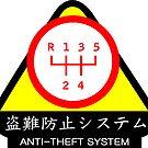 JDM - Anti-Theft System (Pattern 2) (light) by ShopGirl91706