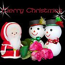 Merry Christmas by Sharon Brown