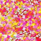 Flowery confetti by Liz Plummer