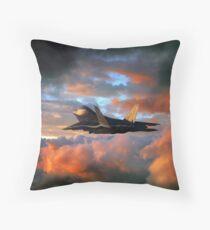 Raptor Launch Throw Pillow