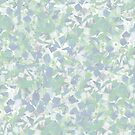 Blue-green confetti by Liz Plummer
