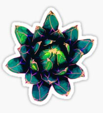 Sweet Agave ( Blue Succulent ) Sticker