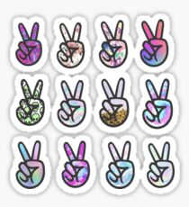 peace sticker pack Sticker