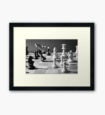 Chess Framed Print