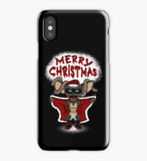 Flashing Through The Snow (colour/with text) iPhone Case