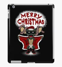 Flashing Through The Snow (colour/with text) iPad Case/Skin