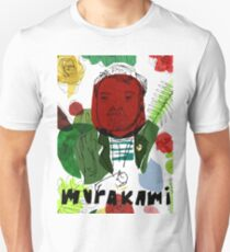 Haruki Murakami Slim Fit T-Shirt