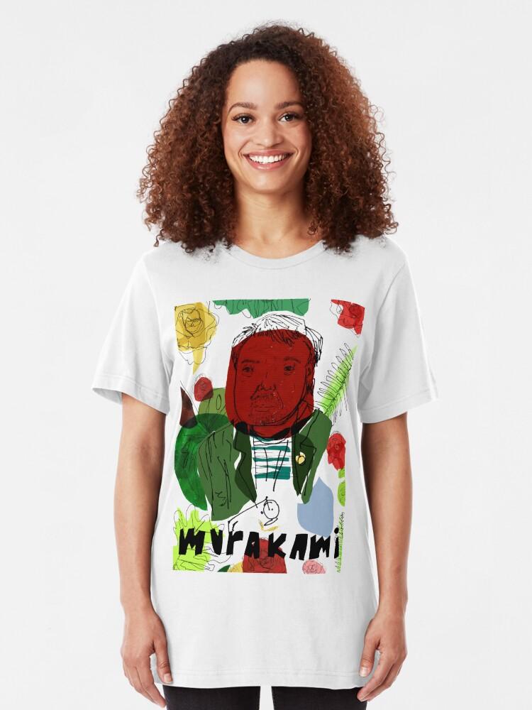 Alternative Ansicht von Haruki Murakami Slim Fit T-Shirt