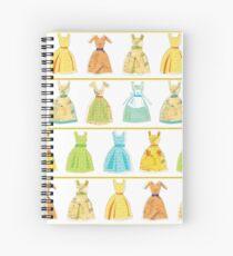Collage Dresses Design Spiral Notebook