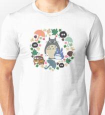 Green Totoro Wreath - My Neighbor Totoro Unisex T-Shirt