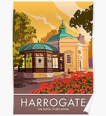 Harrogate, the Royal Pump Room Poster