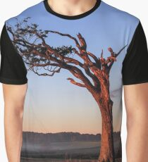 A Tree, Boughing to Nature Graphic T-Shirt