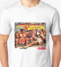 SNES Street Fighter II Turbo cover  Unisex T-Shirt