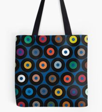 VINYL blue Tote Bag