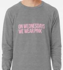 On Wednsday We Wear Pink Leichter Pullover