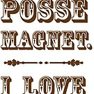 Posse Magnet by Beth Howard