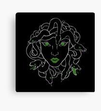 Green Gorgon Canvas Print