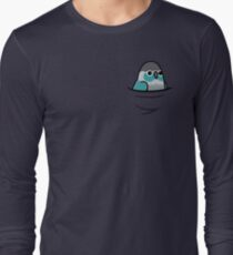 Too Many Birds! - Turquoise Green Cheek Conure Long Sleeve T-Shirt