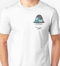 Too Many Birds! - Turquoise Green Cheek Conure T-Shirt
