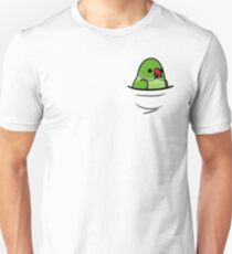Too Many Birds! - Green Indian Ringneck Unisex T-Shirt