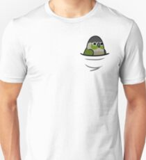 Too Many Birds! - Green Cheeked Conure T-Shirt