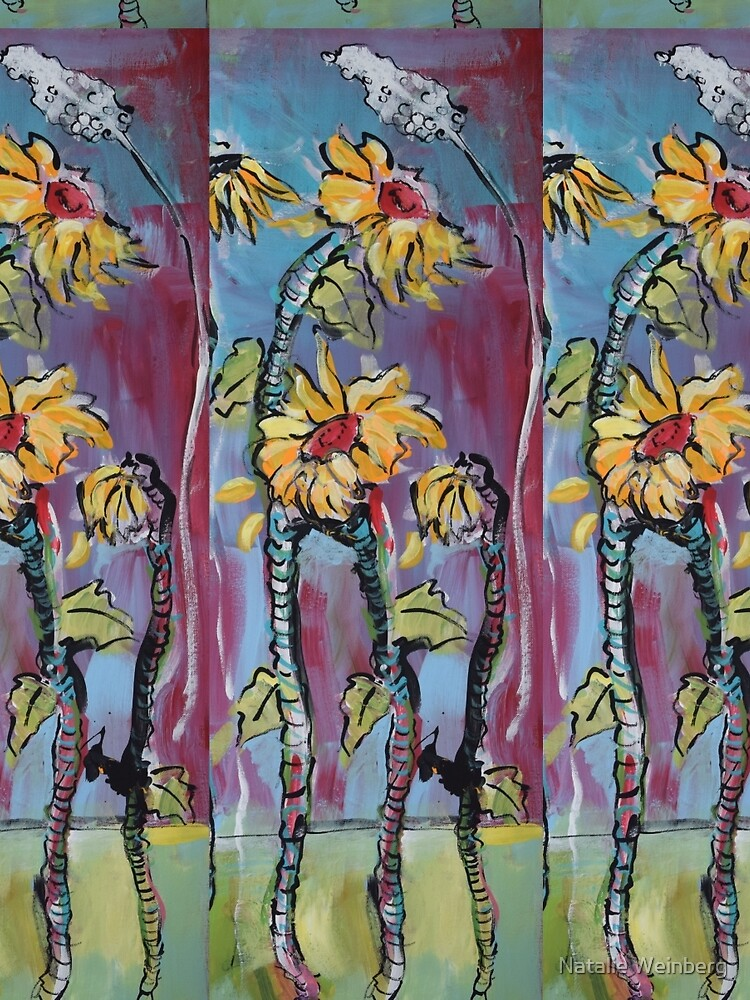 Dreamy Sunflowers by natalieweinberg