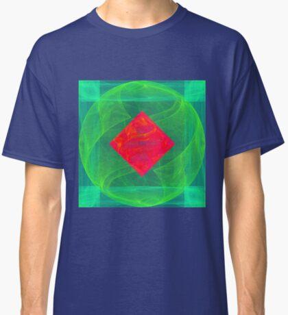 Antiquarian Pulsar infrared #fractal art Classic T-Shirt