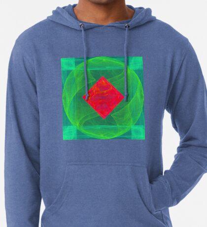 Antiquarian Pulsar infrared #fractal art Lightweight Hoodie