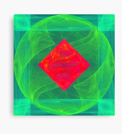 Antiquarian Pulsar infrared #fractal art Canvas Print