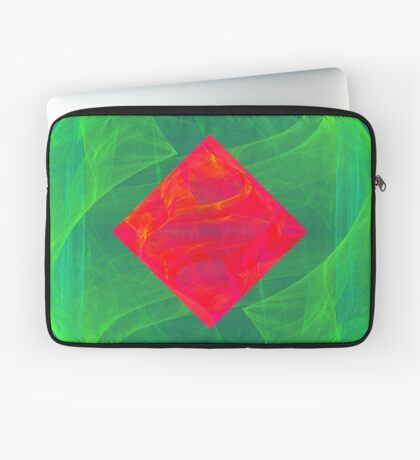 Antiquarian Pulsar infrared #fractal art Laptop Sleeve