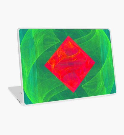 Antiquarian Pulsar infrared #fractal art Laptop Skin